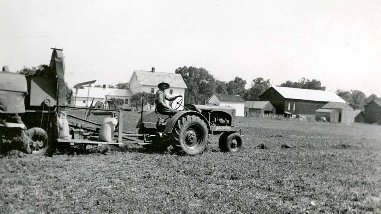 Keener Farm Of Yesteryear